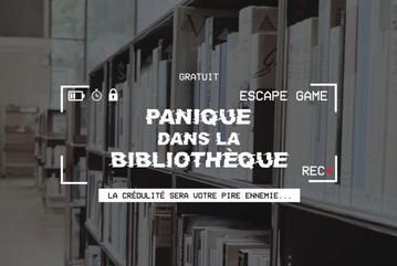 Escape Game  « Panique dans la bibliothèque » |
