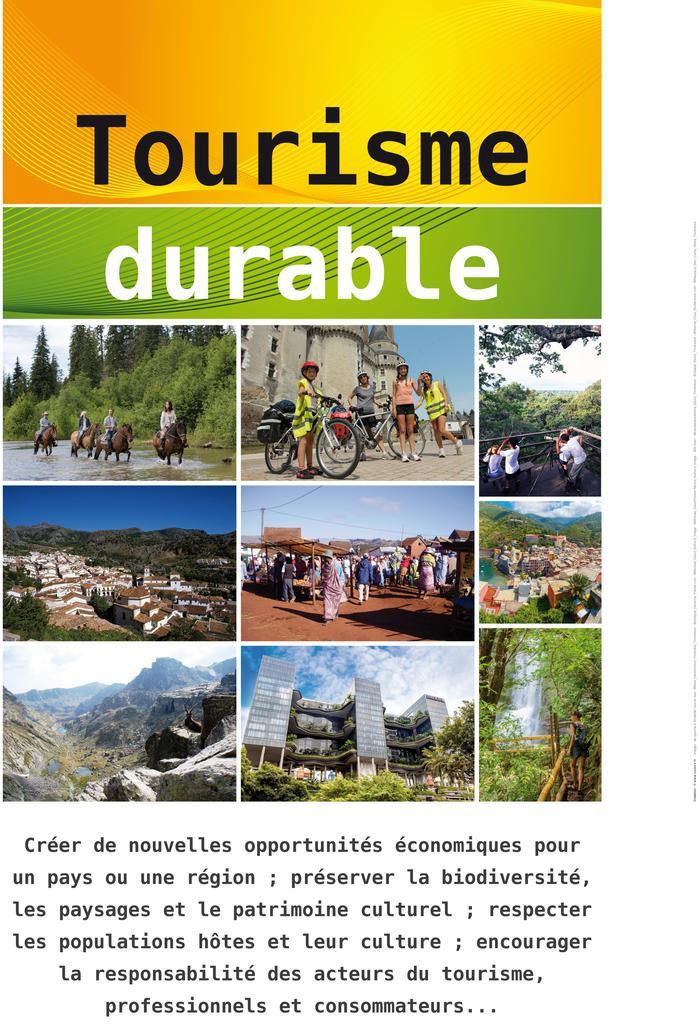 Tourisme durable   COMVV
