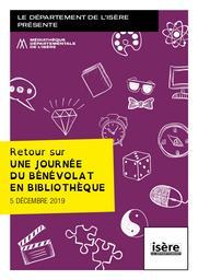 Retour sur une journée du bénévolat en bibliothèque : 5 décembre 2019   Médiathèque départementale de l'Isère. Auteur